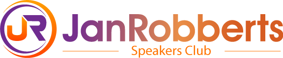 Jr speakers club logo